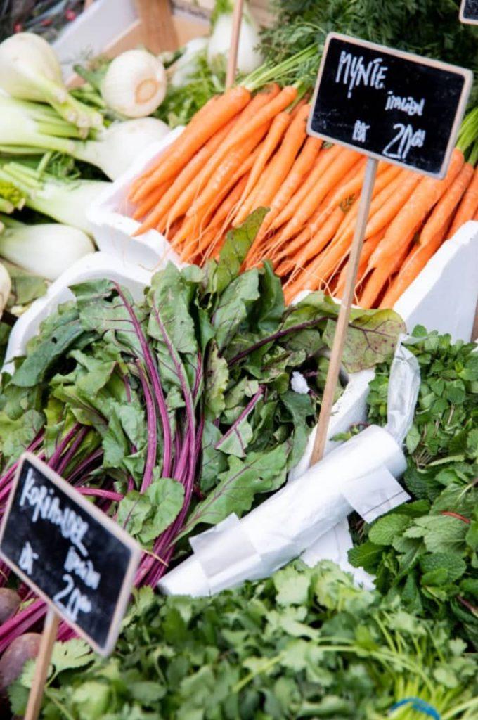 Grøntsager, sunde vaner