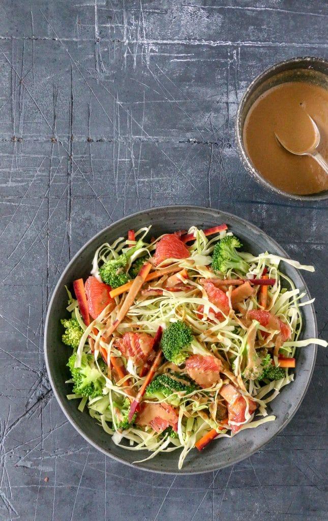 Spicy spidskåls salat