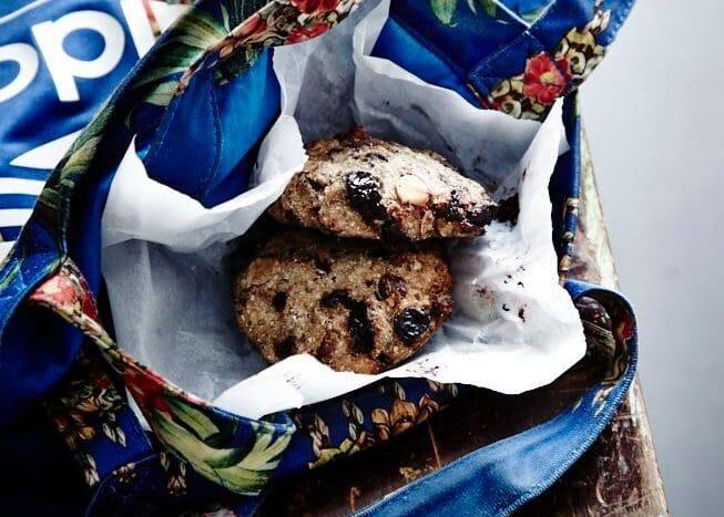 Scones med kål smager skønt som en sund snack