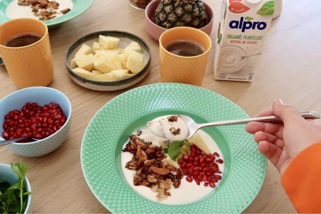 Plantgurt til morgenmaden