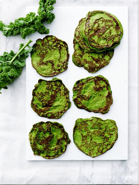 Opskrifter på pandekager – grønne pandekager hitter