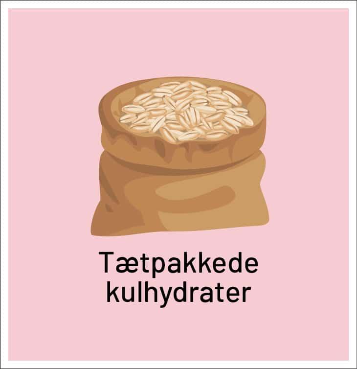 Tætpakkede kulhydrater