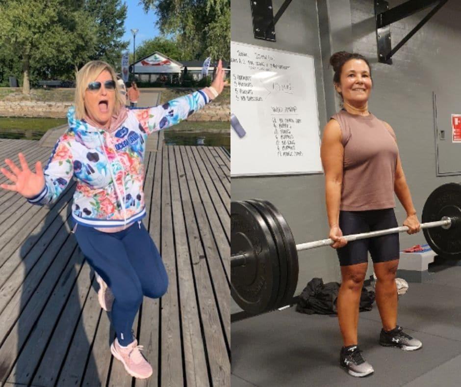 Vægttab i overgangsalderen
