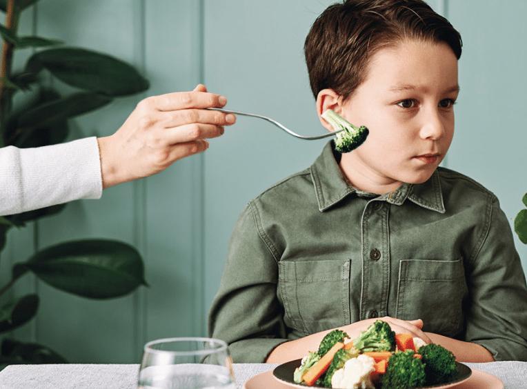 Grøntsager til børnene