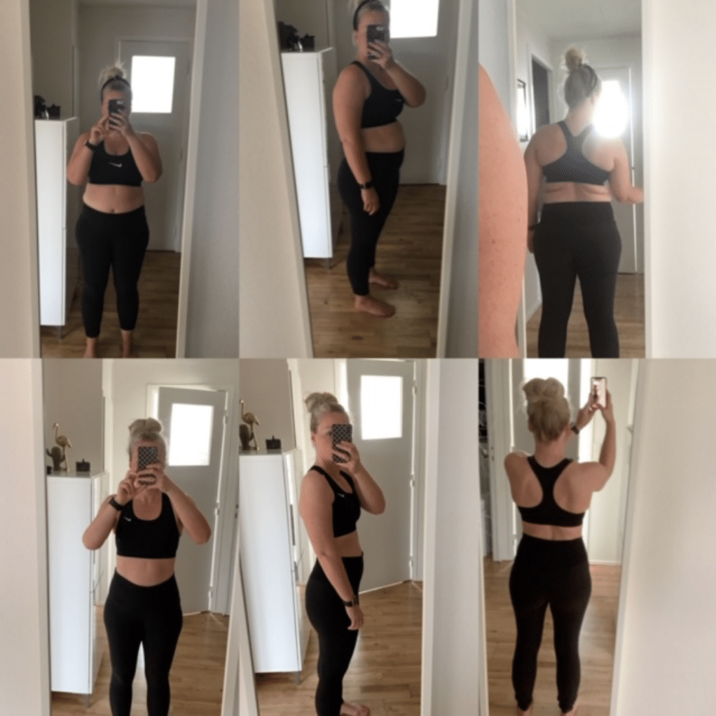 Vægttab på MK principperne - Mia