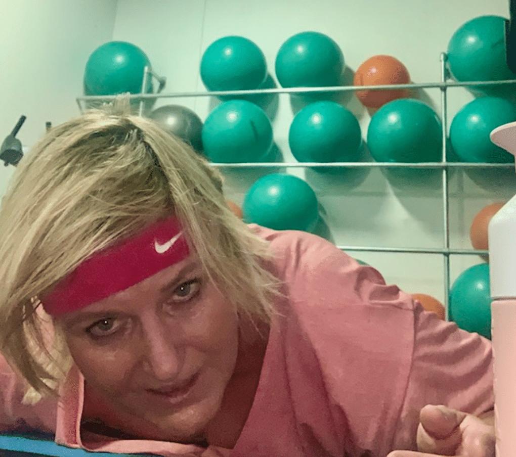 Vægttab - Vibeke Guldager i træningscentret