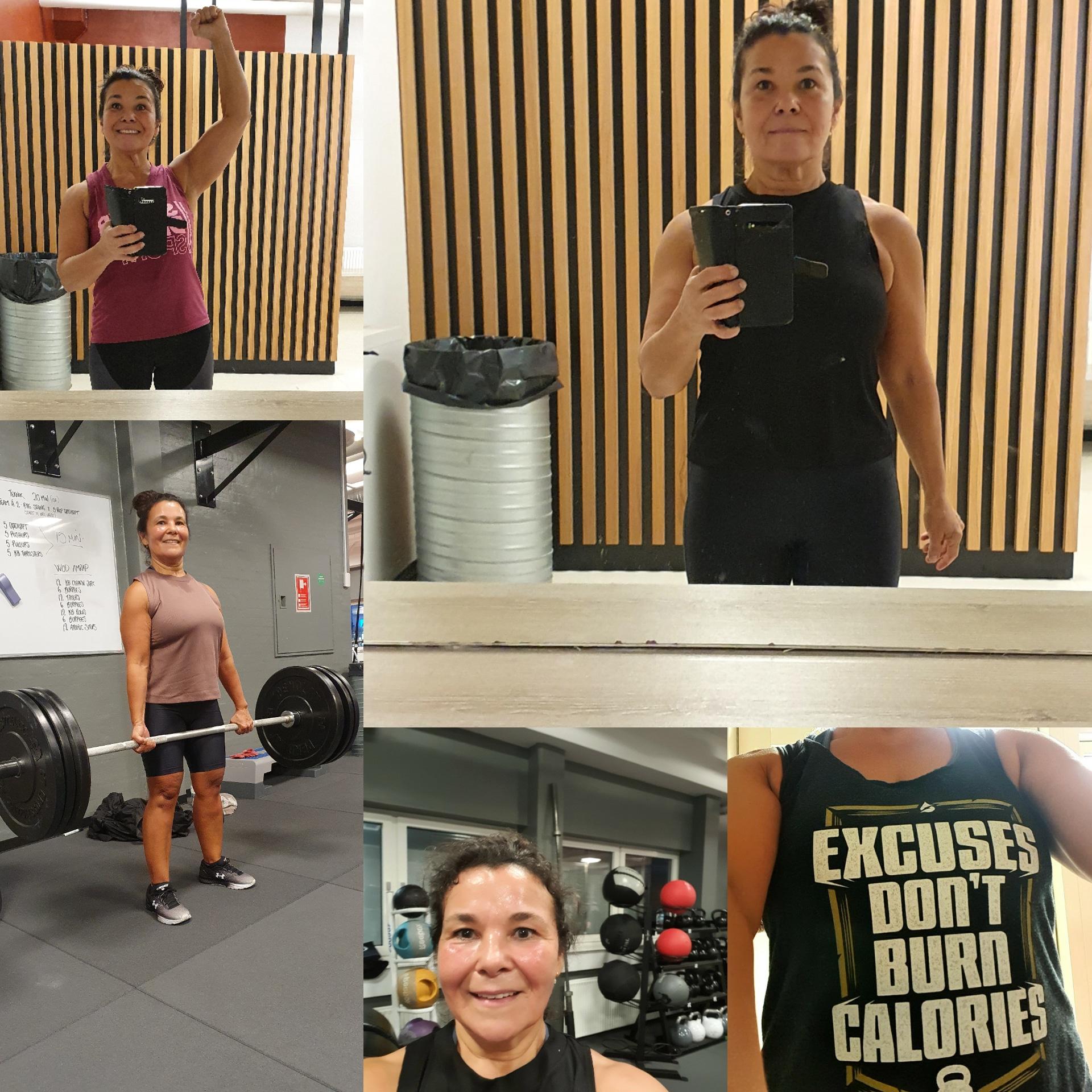 Vægttab – Vibeke Welander i træningscentret