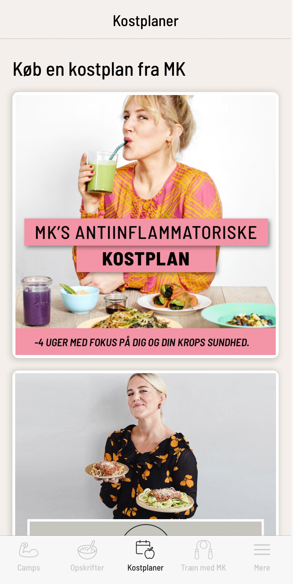 MK Universet-app'en