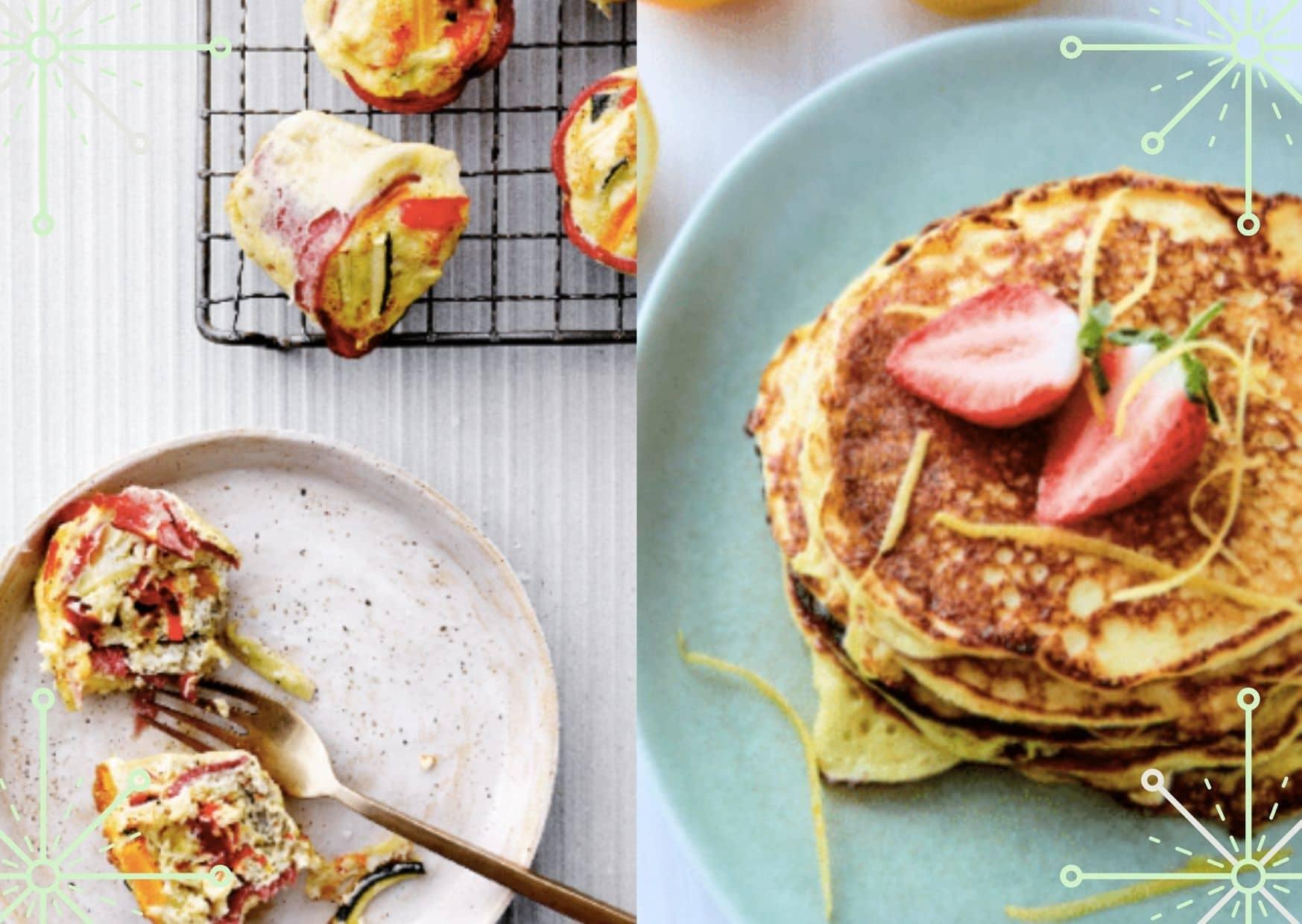 Æggemuffins og pandekager til tømmermændene