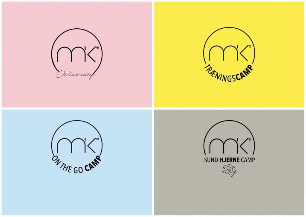MK's 4 forskellige camps