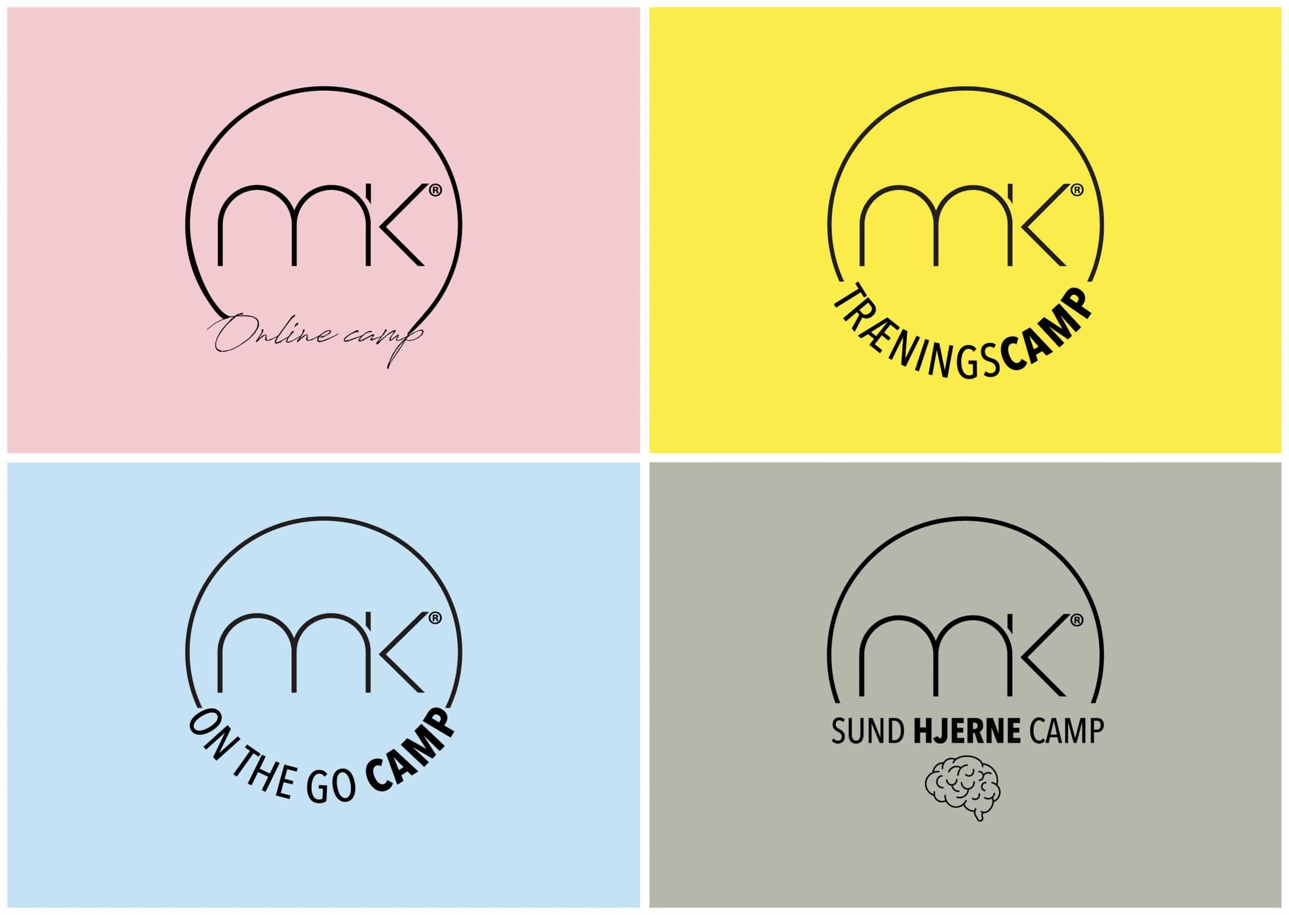 De fire MK camps