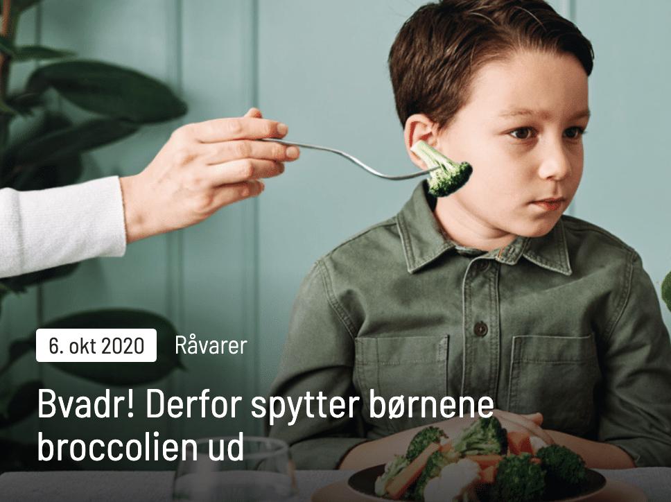 Derfor spytter børnene broccolien ud