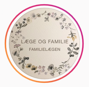 Læge og familie-Instagramprofil