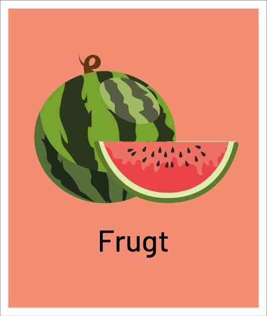 Dine mængder af frugt