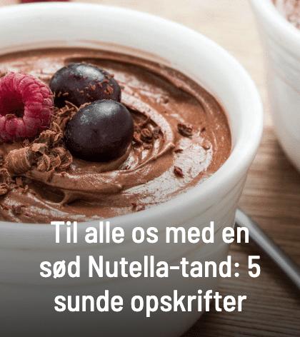 Få opskriften på Nutellamousse