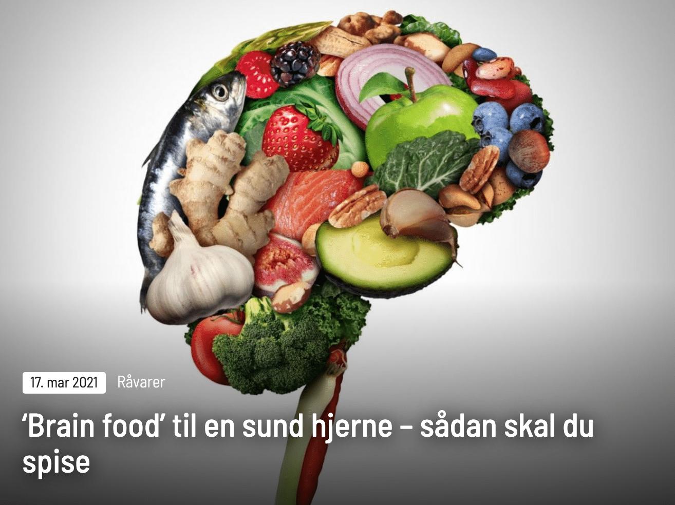 Lær at spise det, din hjerne elsker