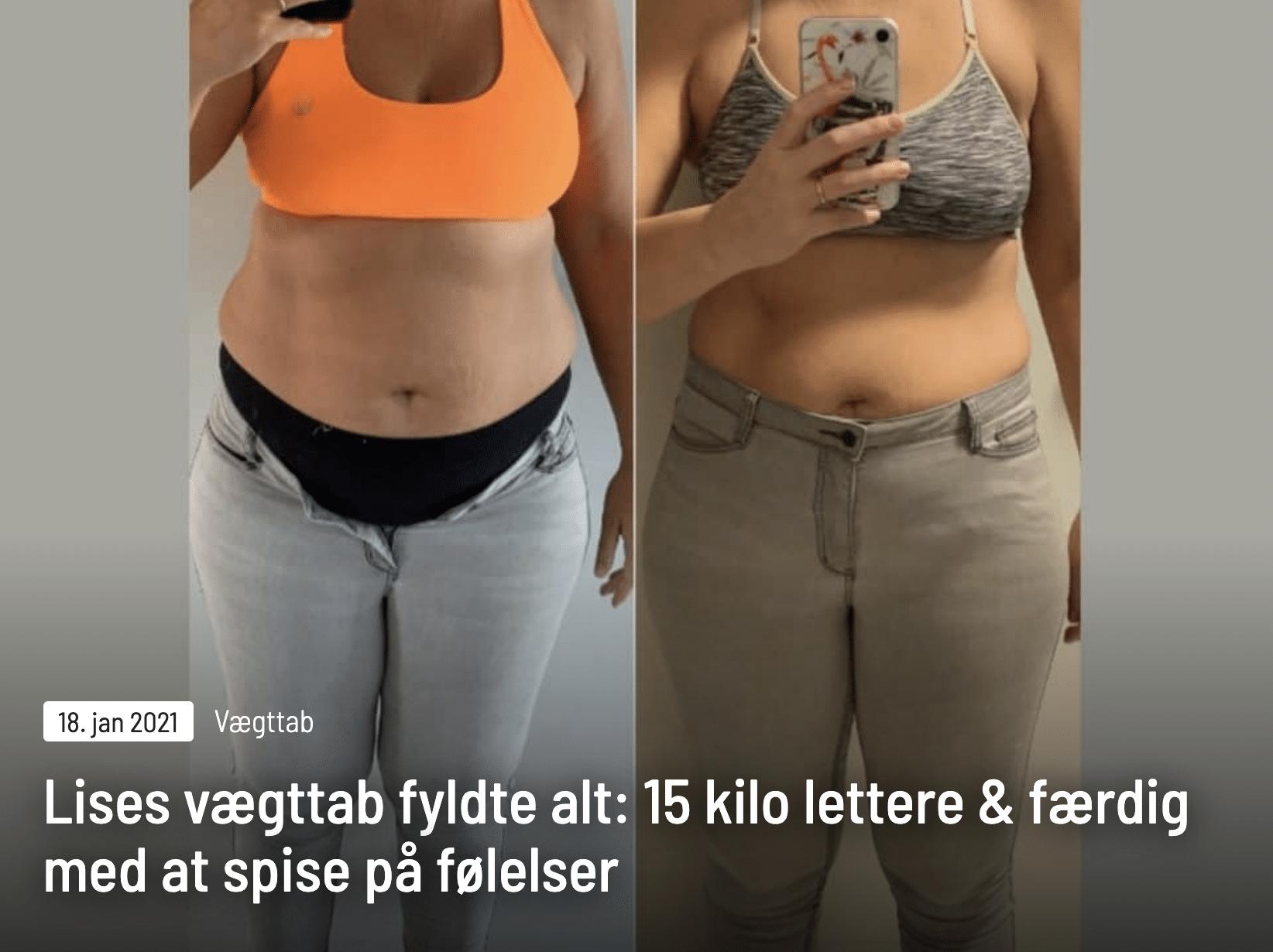Lises vægttabsrejse