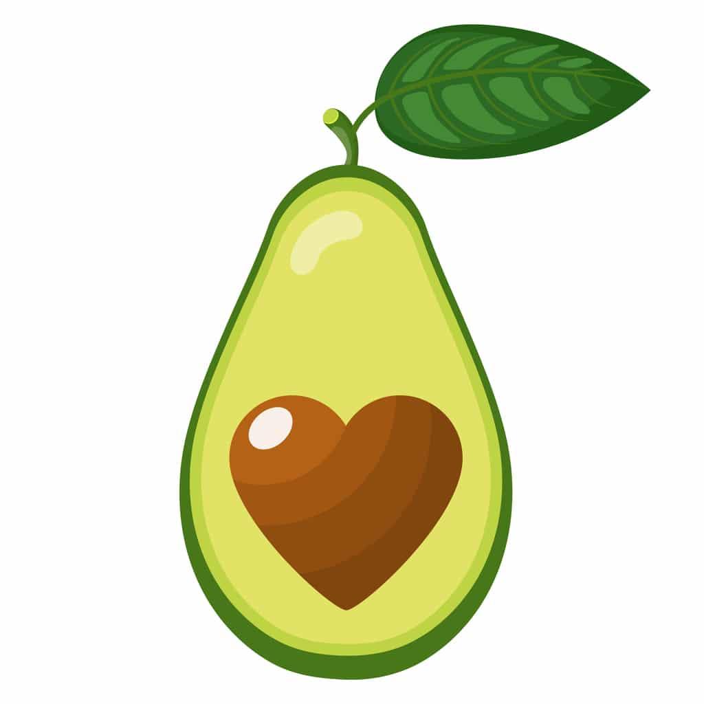 Avocado tæller ifølge MK principperne som en fedtkilde
