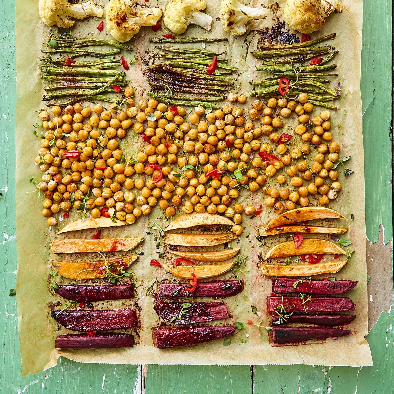 Vegetarisk one sheet